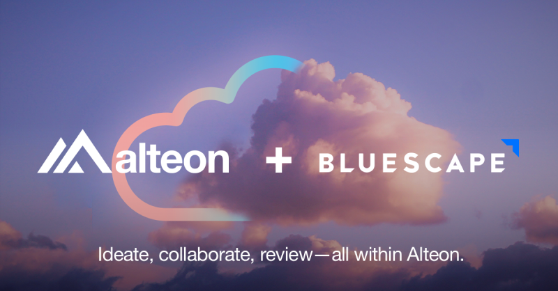 Alteon partners with Bluescape to bring enterprise-grade production tools to independent creators